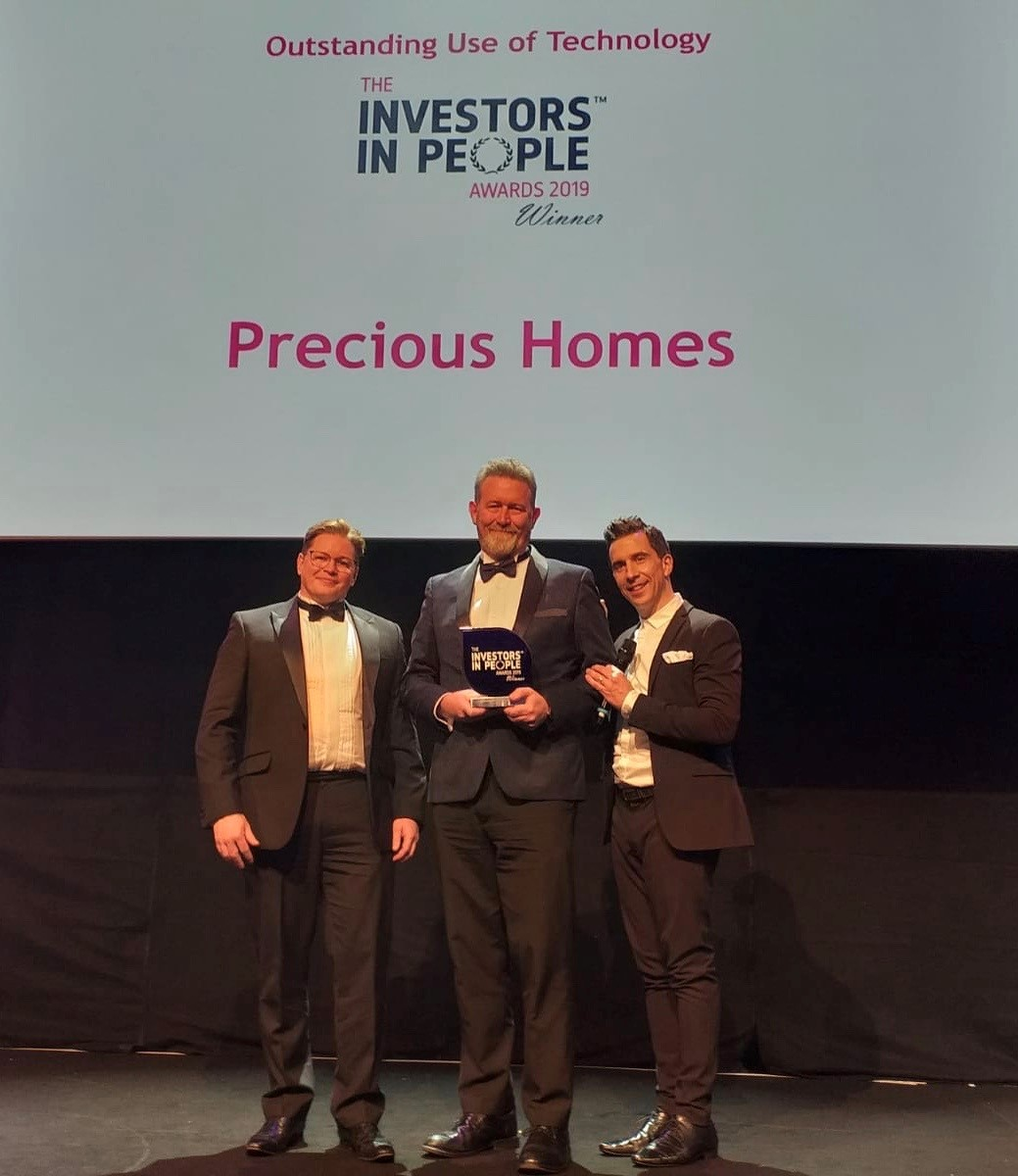 Investors in People Award win for Precious Homes